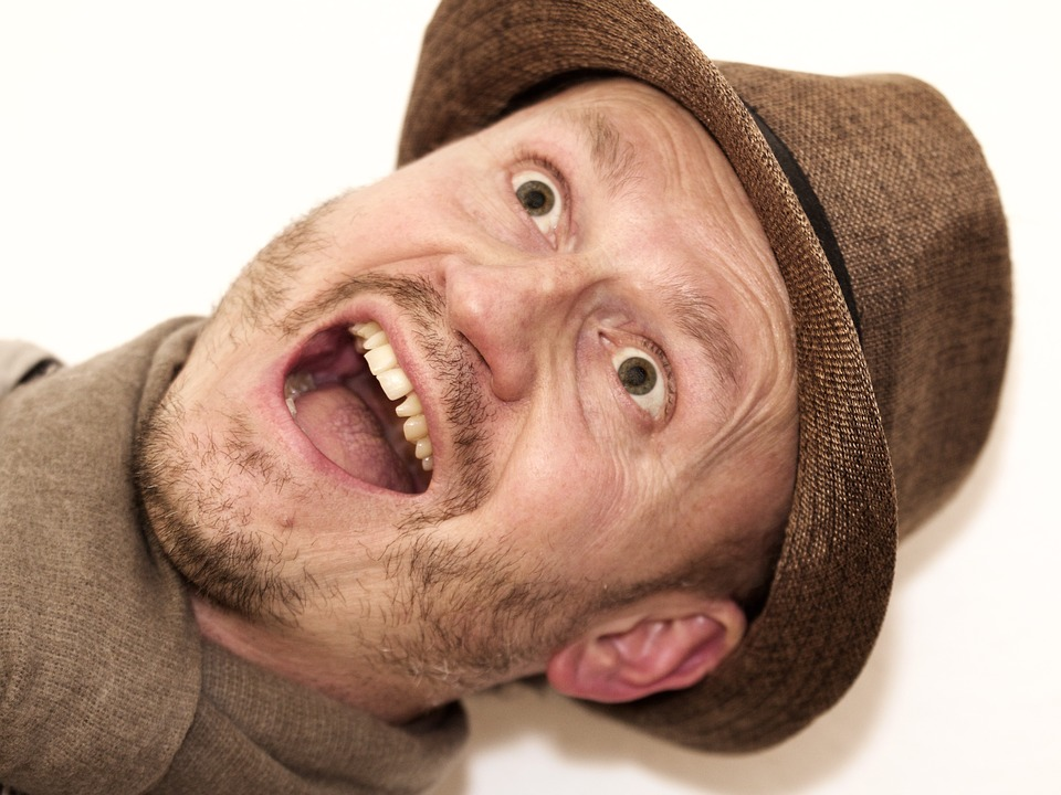 Man, Hat, High Looking, Joy, Male, Portrait