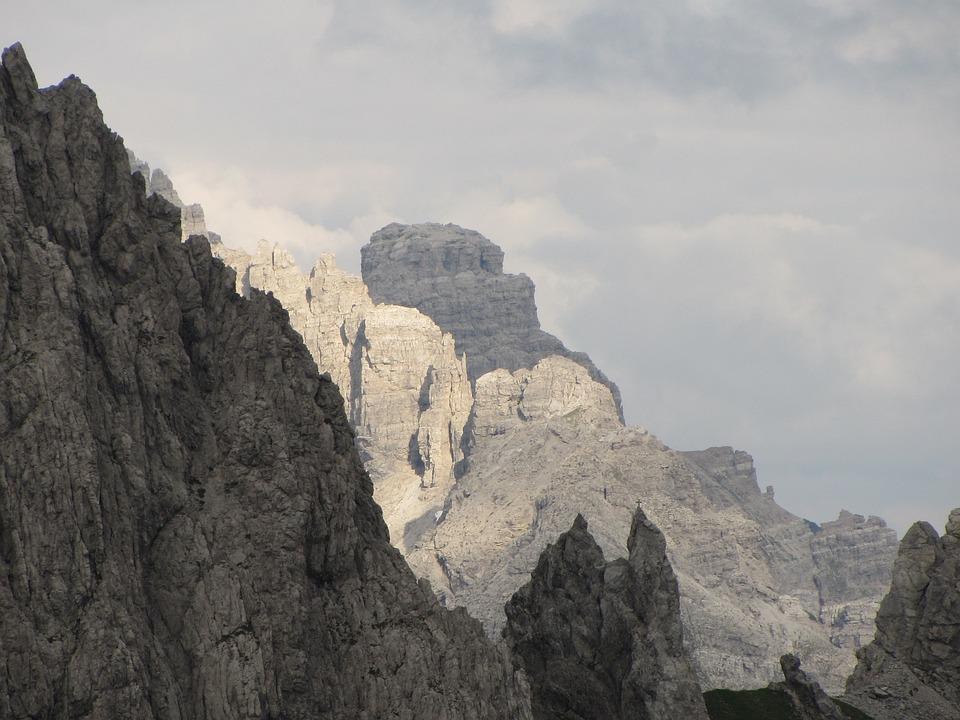 High Mountains, Schroff, Rock, Mountains, Impassable