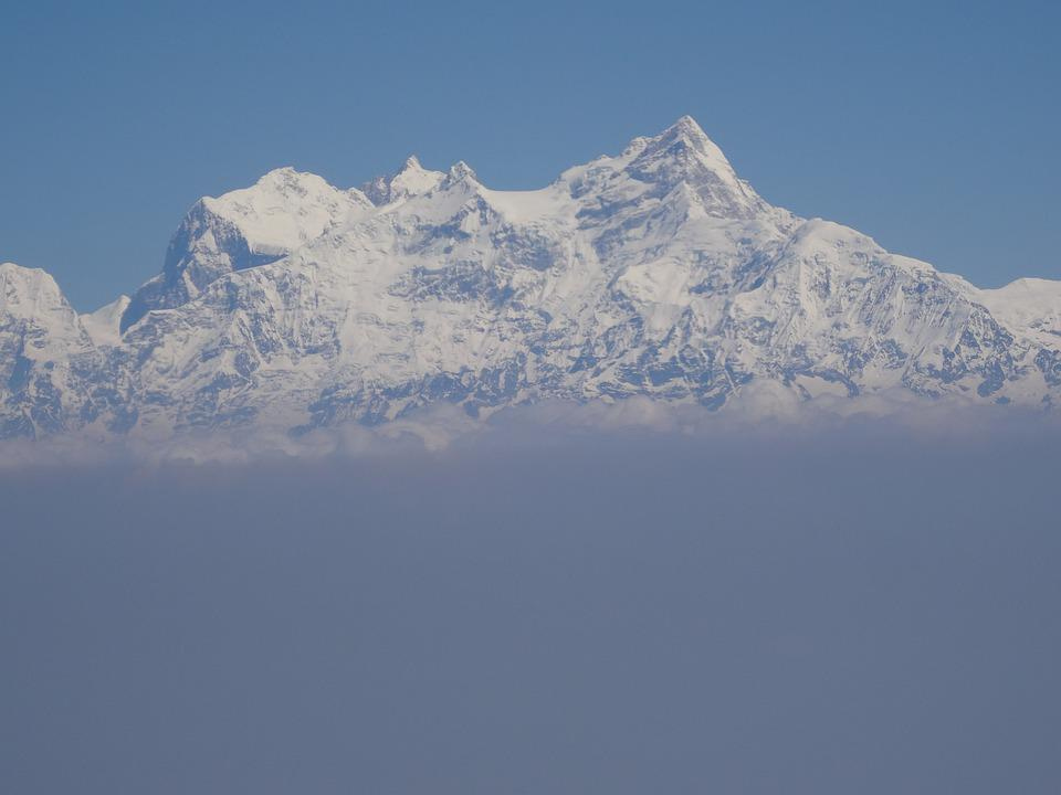 Mountains, Snow, Himalayas, Mountain, Outdoor, High
