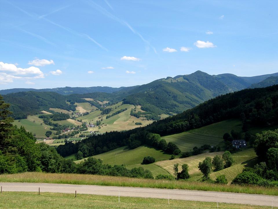 Black Forest, Valley, High Ridge, Landscape, Idyll