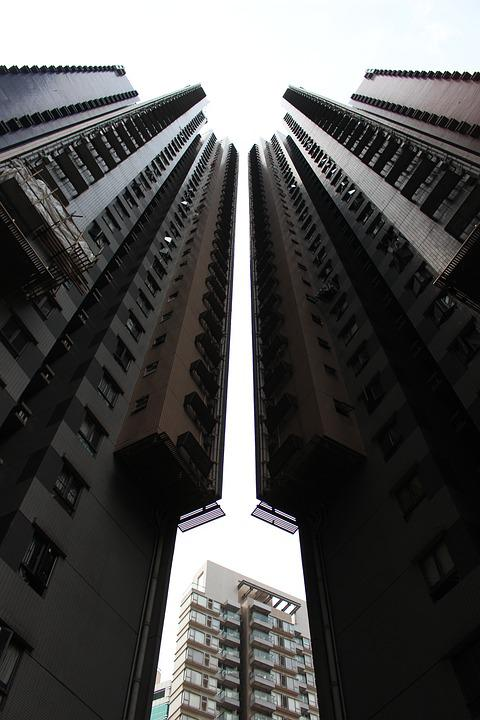 High Rise Building, City, Sky