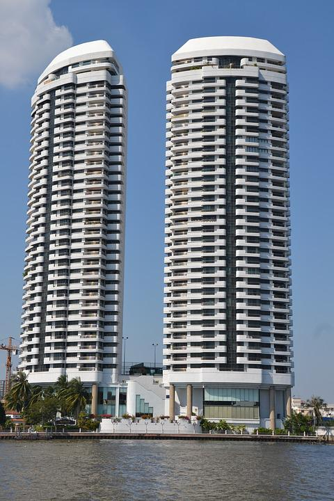 Apartments, High Rise, Hotel, Building, City, High-rise
