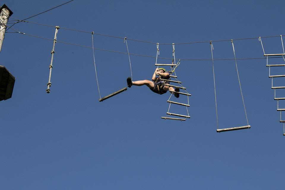 High Ropes Course, Actor, Difficult, Power-consuming