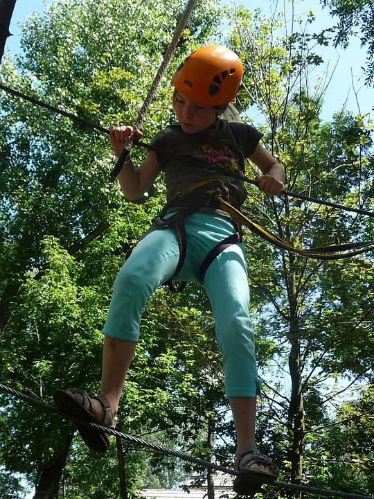 Climbing Garden, High Ropes Course, Ropes Course