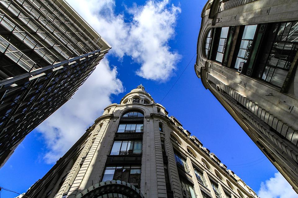Architecture, City, Sky, Building, Skyscraper, High