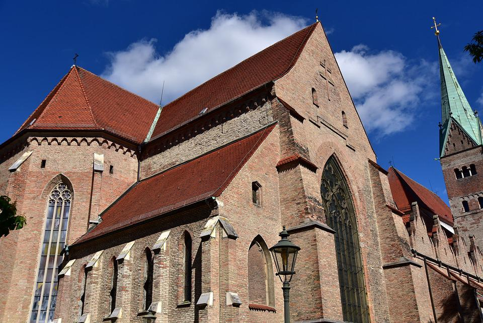Dom, Augsburg, Steeple, High, Historically