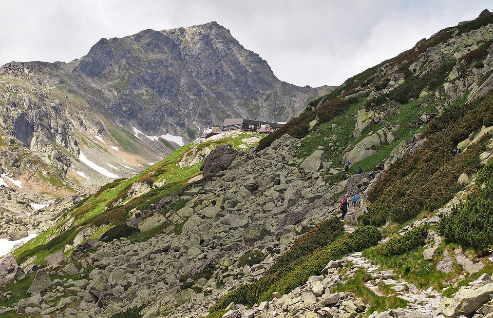 Chalet, High Tatras, Slovakia, Hiking, Mountains