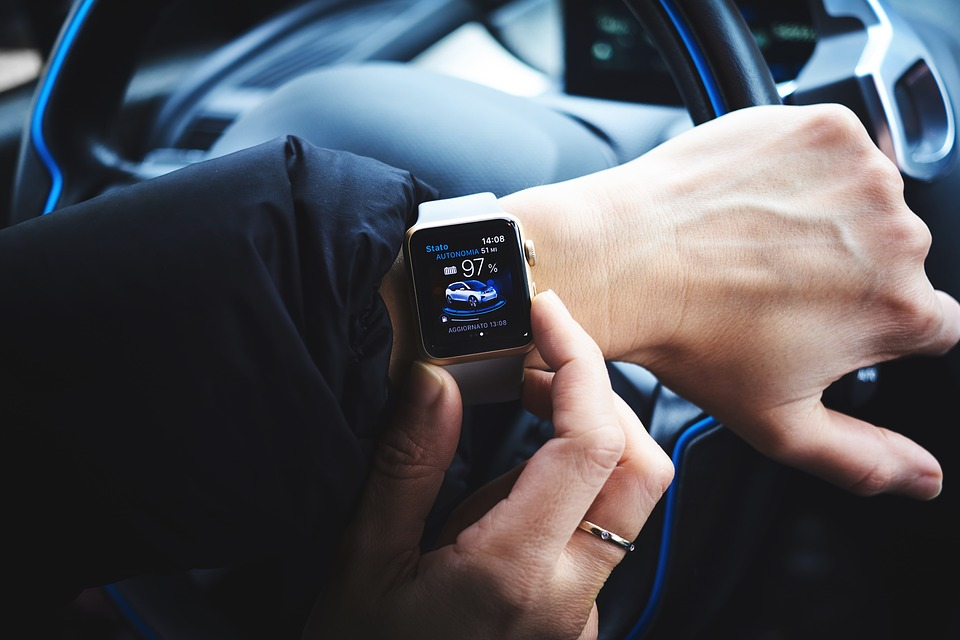 free photo high tech car watch hand technology time people max pixel