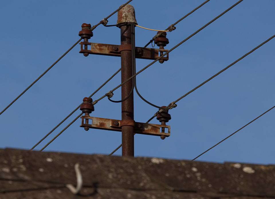 Current, Power Line, Energy, Electricity, High Voltage