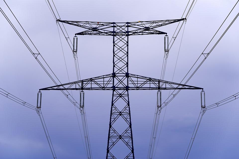 High Voltage Line, Electricity, Electric, Pylon