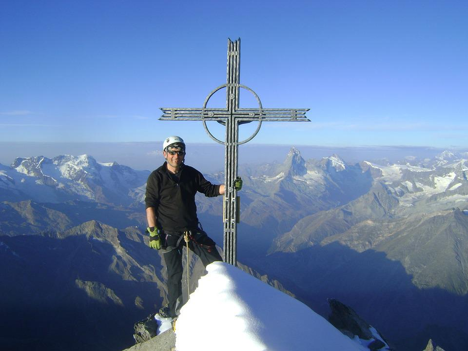 Täschhorn, Valais, High-altitude Mountain Tour