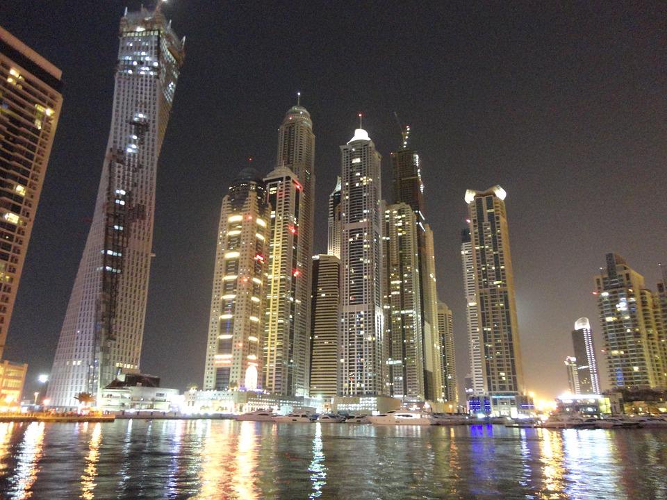 Dubai, Skyscrapers, High-rises, United Arab Emirates