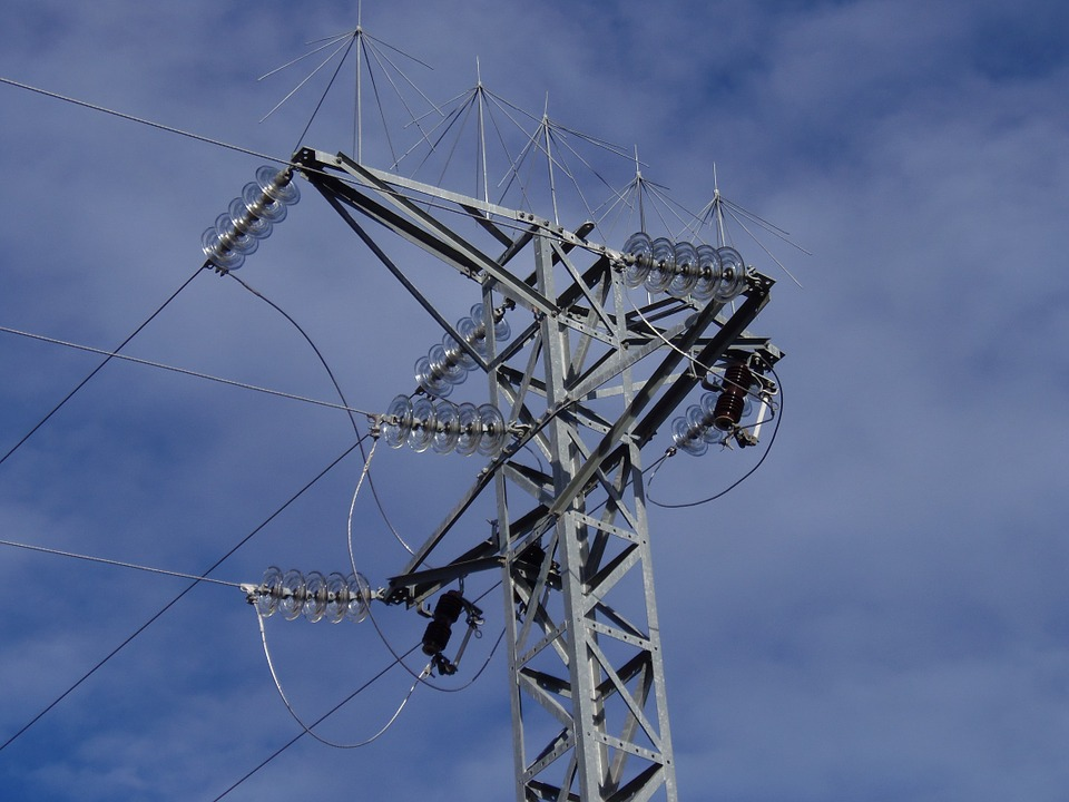 High-voltage Tower, The Light Pole, Electricity, Supply