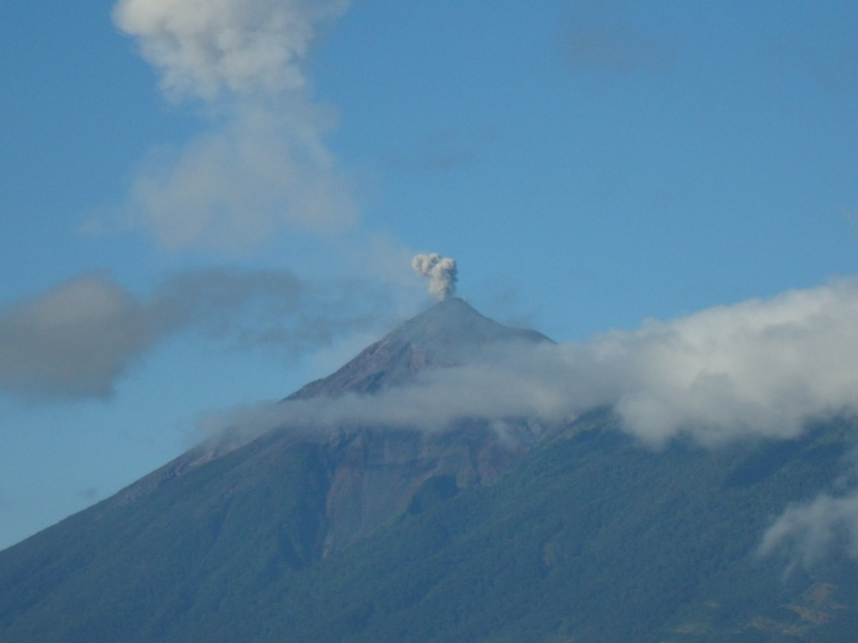 Volcano, Guatemala, Landscape, Highest Point