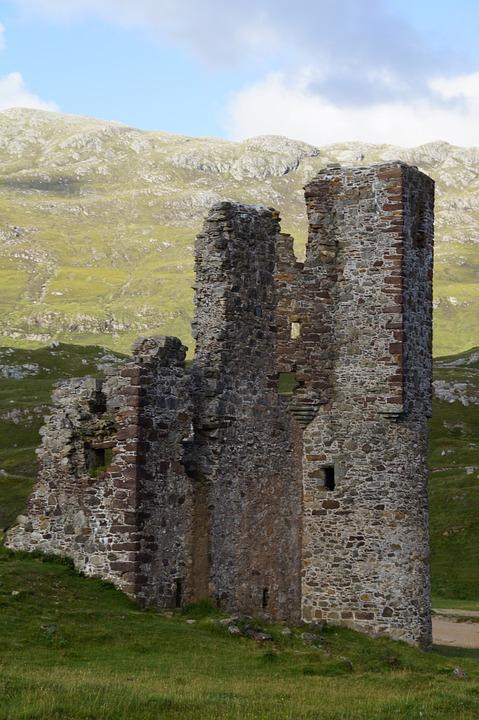 Highlands And Islands, Scotland, Ruin, Castle