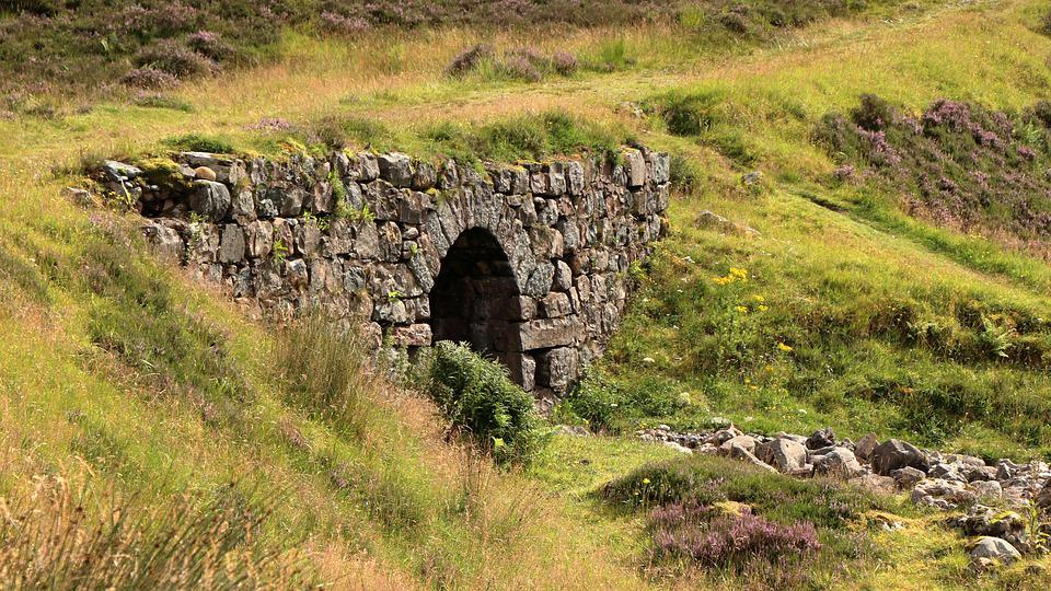Scotland, Stone Bridge, Bridge, Highlands, Landscape