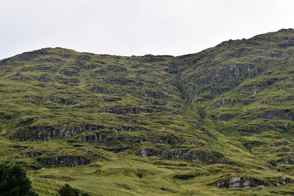 Hillside, Mountain, Landscape, Scotland, Highlands