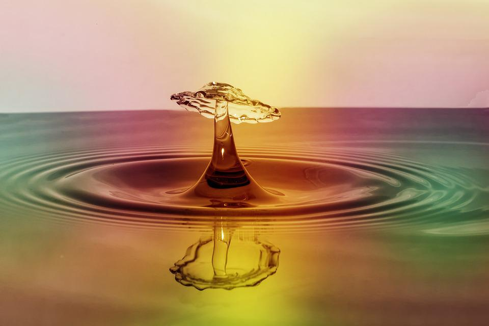 Highspeed Photography, Water, Drop Of Water