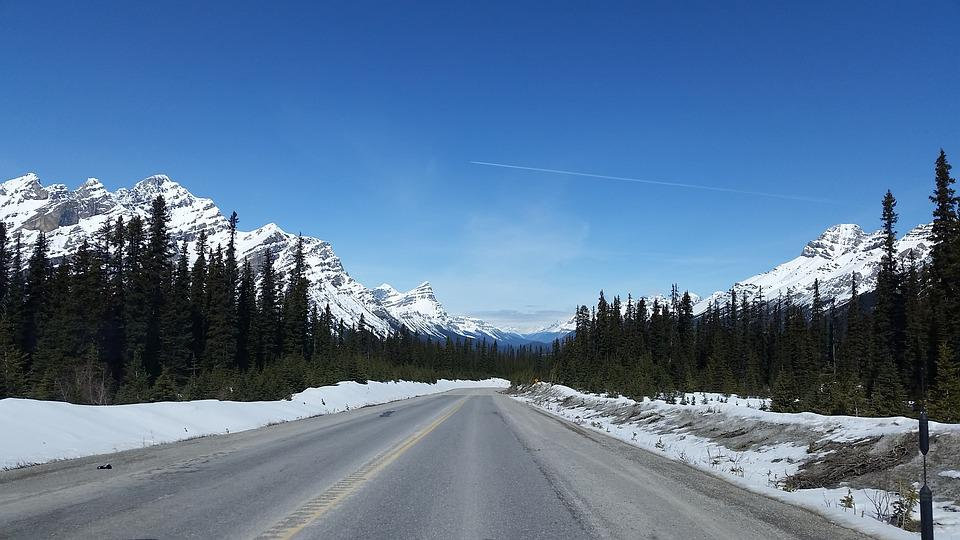 Highway, Mountains, Icefields, Parkway, Alberta, Scenic