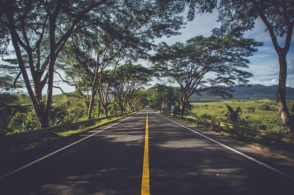 Asphalt, Street, Highway, Landscape, Road, Roadway