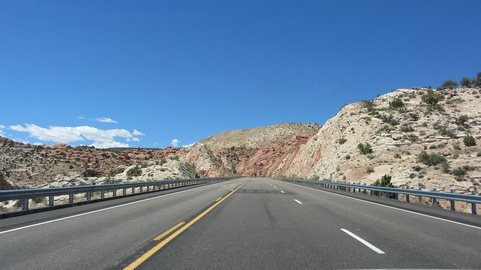 Usa, America, Highway, Road, Road Trip, Travel