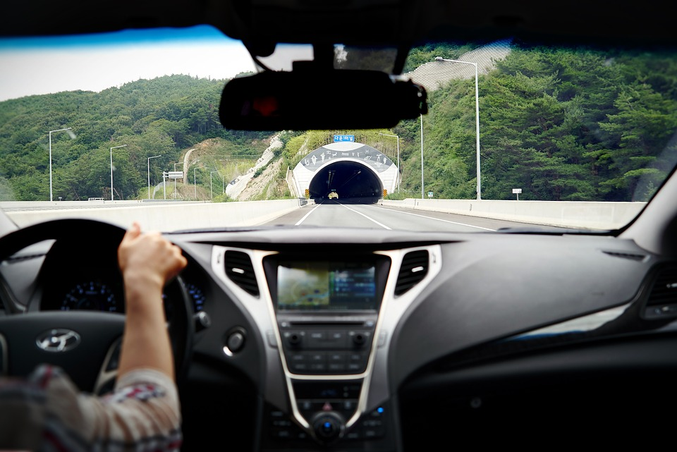Highway, Driving, Tunnel