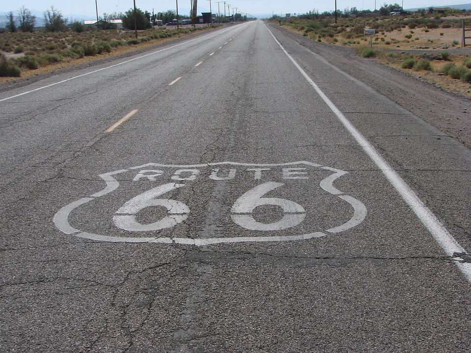 Route 66, Road, Usa, Highway, Route, 66, Desert