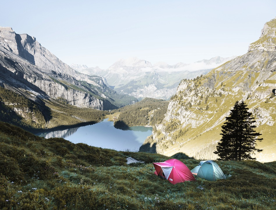 Adventure, Camping, Cliffs, Hike, Lake, Landscape