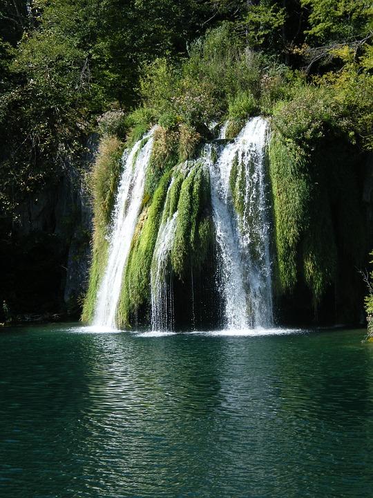 Waterfall, Plittvice, Lake, Clear, Hike