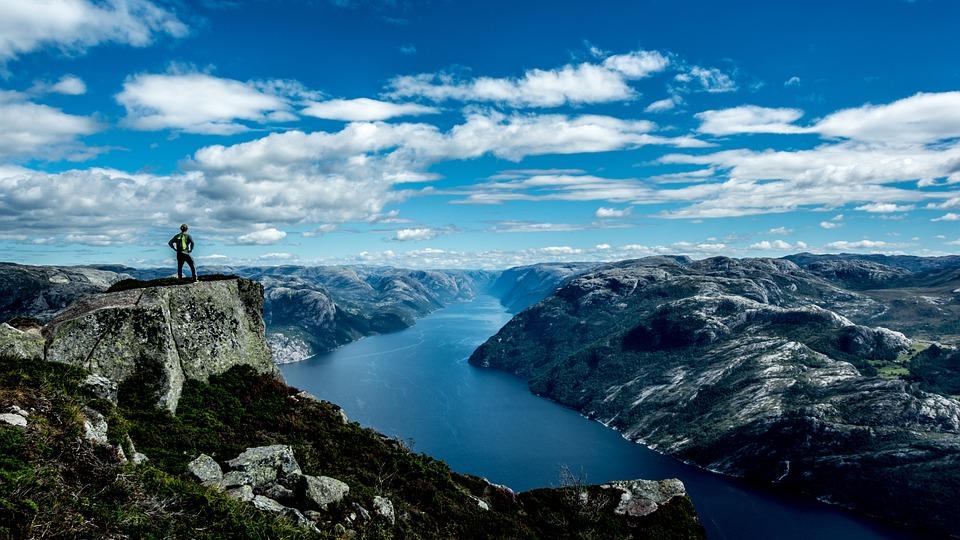 Adventure, Clouds, Hike, Landscape, Mountains, Nature