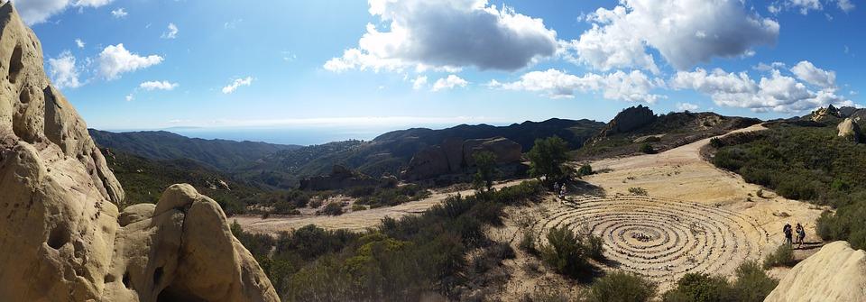 Hike, Malibu, Castro Crest, Spiral, Rock, Sky, Blue