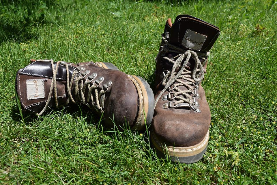 Shoes, Hiking Shoes, Hiking, Alpine Boots, Shoelaces