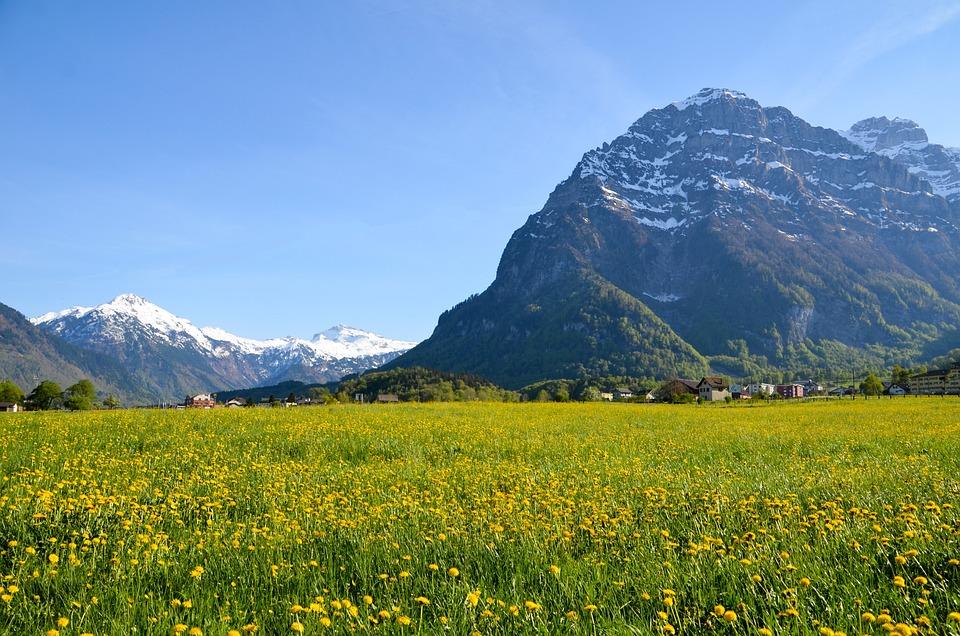 Hiking, Alpine, Landscape, Switzerland, Tourism, Glarus
