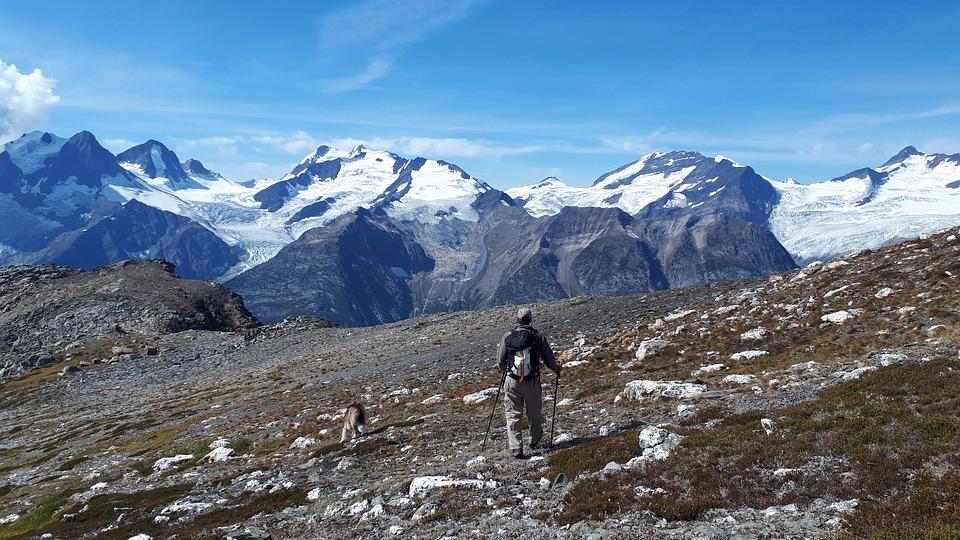 Glacier, Hiking, Mountain, Snow, Alpine, Landscape