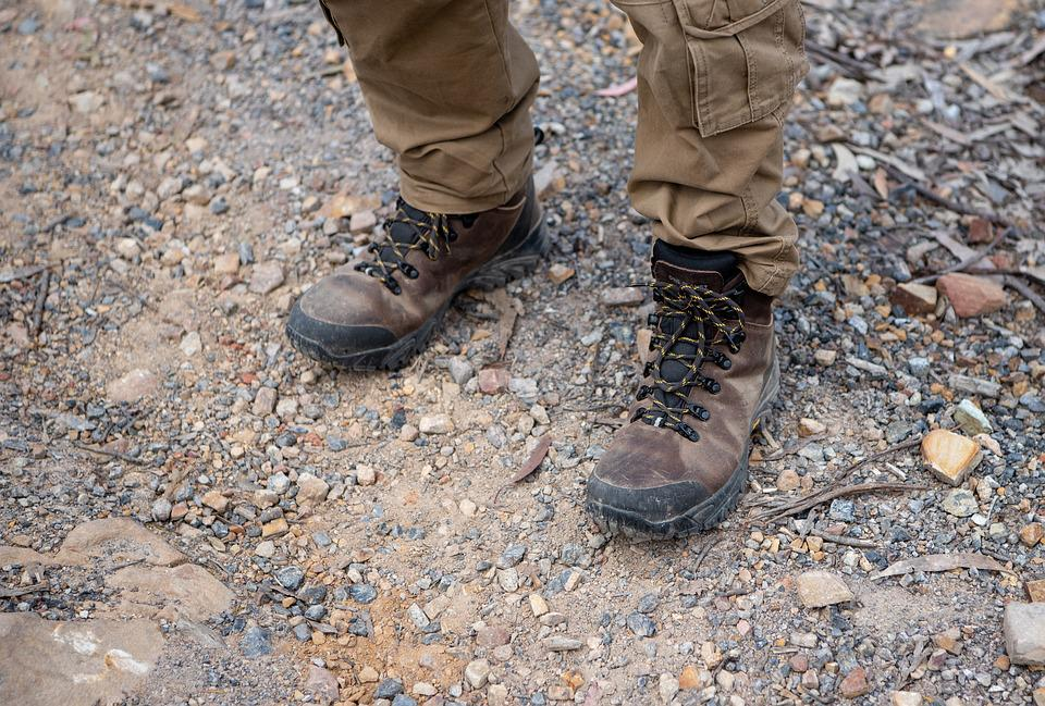 Boots, Hiking Boots, Work Boots, Footwear, Shoes, Laces