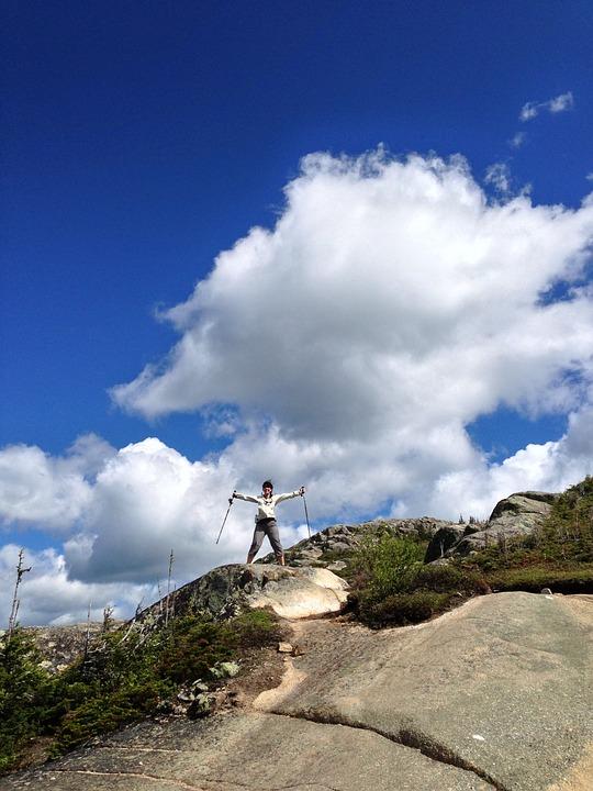 Mountain, Hiking, Summit, Charlevoix, Québec, Mountains