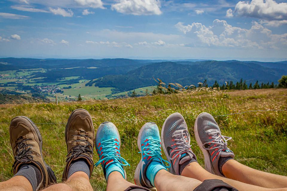 Hiking, Hike, Tired, Rest, Relax, Nature, Landscape