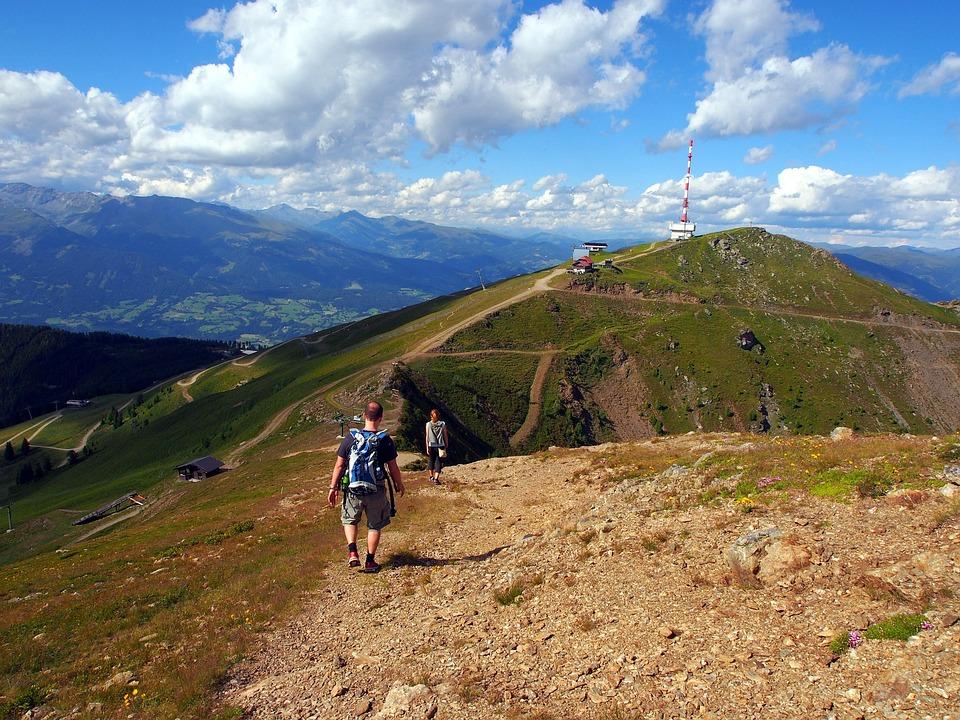 Hiking, Landscape, Nature, Adventure, Mountain, Sky