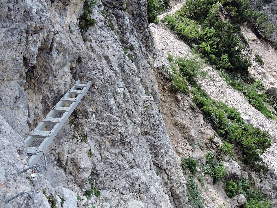 Scale, Rock, Mountain, Ferrata, Excursion, Hiking