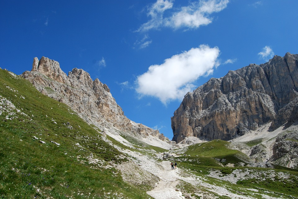 Dolomites, Deadbolt, Hiking, Mountain, Italy, Sky