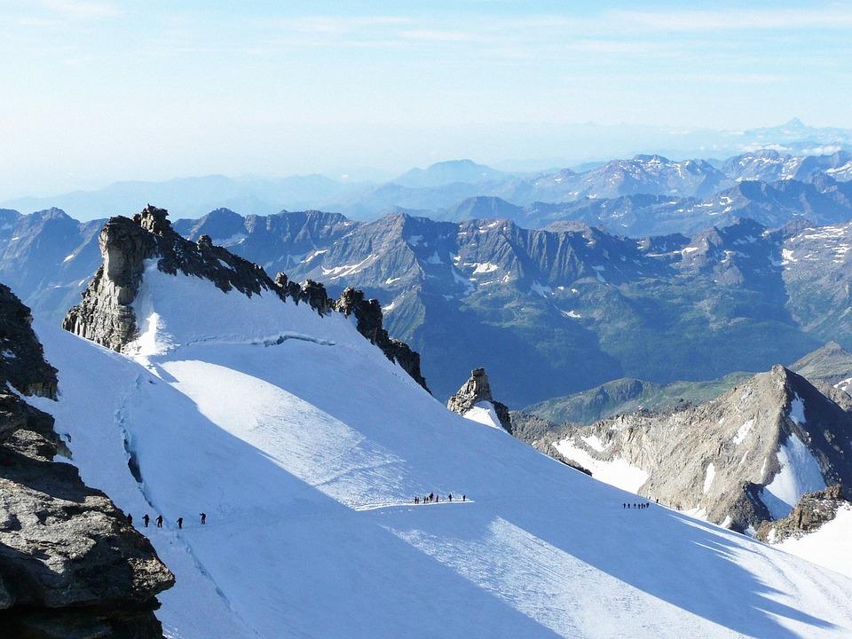Gran Paradiso, Mountain, Snow, Hiking, Winter, Alps