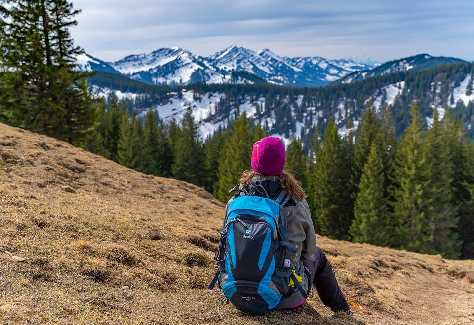 Hiking, Mountains, Adventure, Backpacking, Trekking
