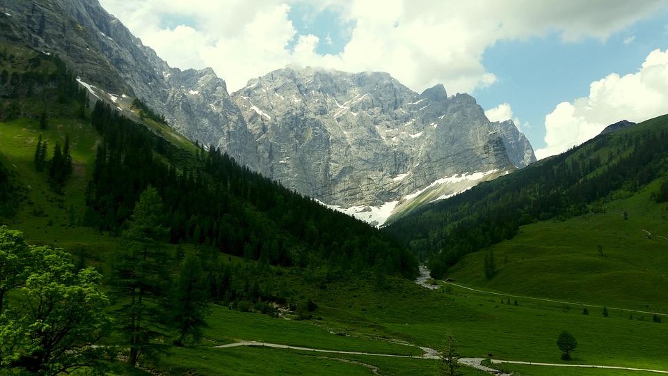 Mountains, Karwendel, Hiking