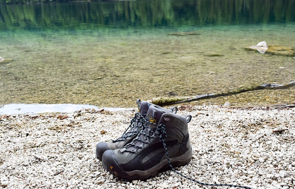 Hiking, Hiking Shoes, Lake, Hike, Shoes, Outdoor