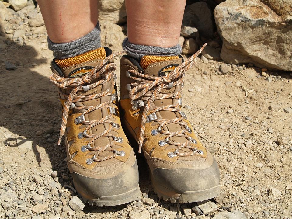 Hiking, Hiking Shoes, Mountain Hiking, Leather, Travel