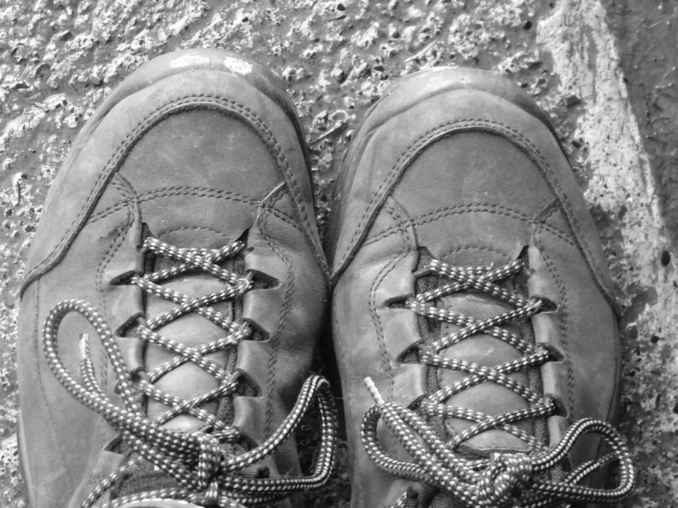 Hiking, Shoes, Make A Pilgrimage