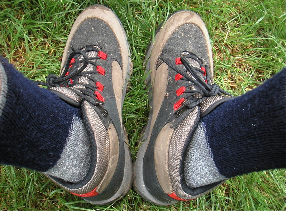 Shoes, Socks, Hiking Socks, Hiking Shoes, Shoelaces