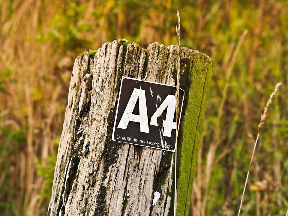 Hiking, Trail, Landscape, Directory, Waymarks