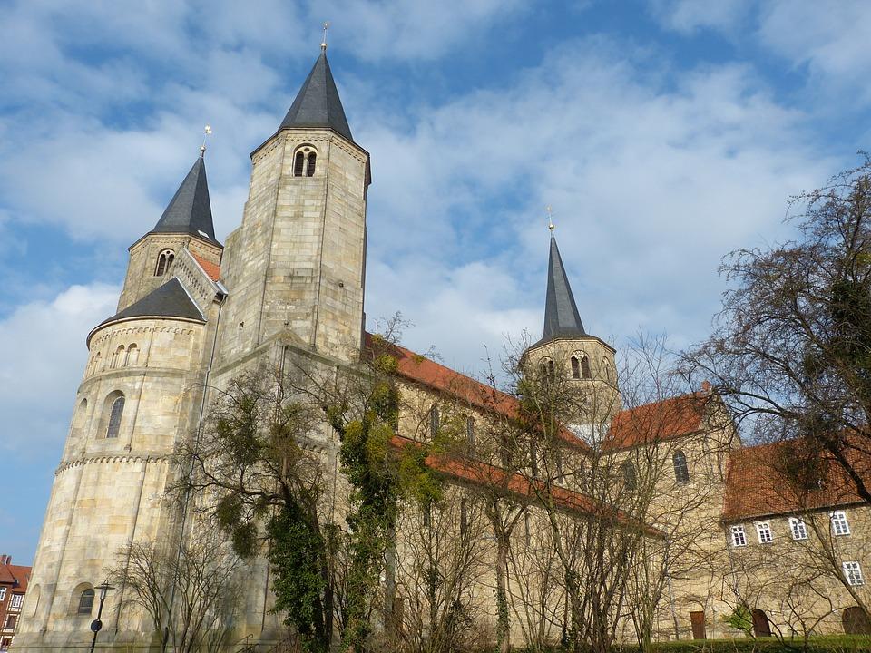 Hildesheim Germany, Lower Saxony, Old Town