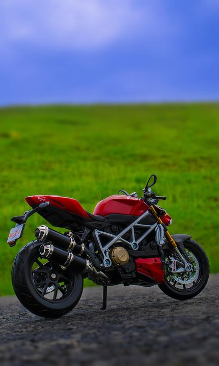 Ducati, Maisto, Diecast, Bike, Miniature, Road, Hill